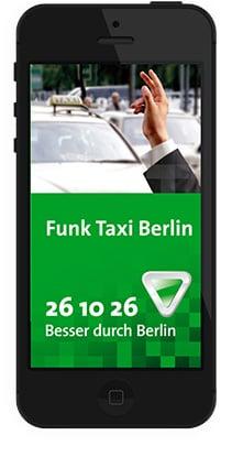 Funk Taxi Berlin App
